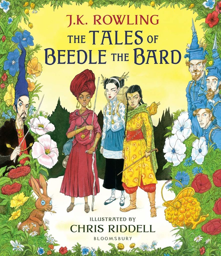 beedle the bard by jk rowling chris riddell illustrated edition