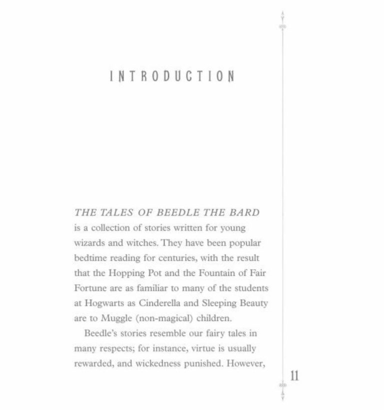 beedle the bard by jk rowling lisbeth zwerger sample page 2