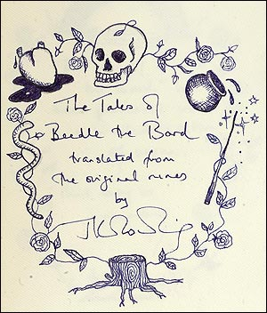 beedle the bard by jk rowling original introduction