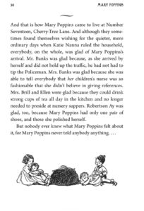 PL Travers Mary Poppins 80th anniversary collection page 30