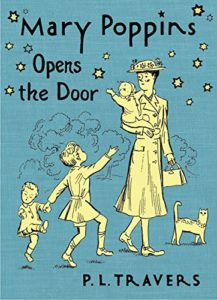 pl travers mary poppins hmh opens the door cover
