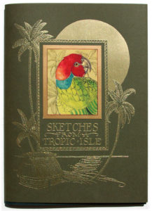 1996 CVS Sketches from a tropic isle parrot