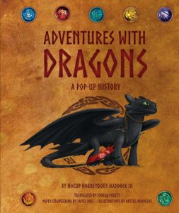 dreamworks dragons pop up cover