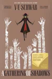 gathering of shadows bn cover