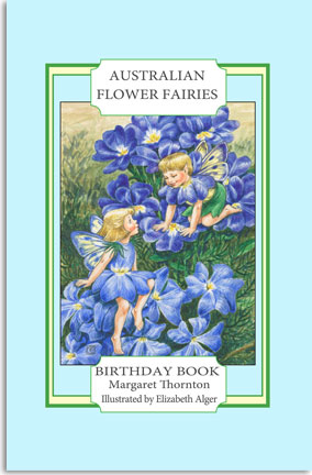Elizabeth Alger Margaret Thornton Australian Flower Fairies Address Book