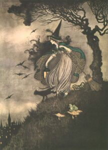 ida rentoul outhwaite elves fairies witch sm