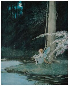 ida rentoul outhwaite fairyland nightingale sm