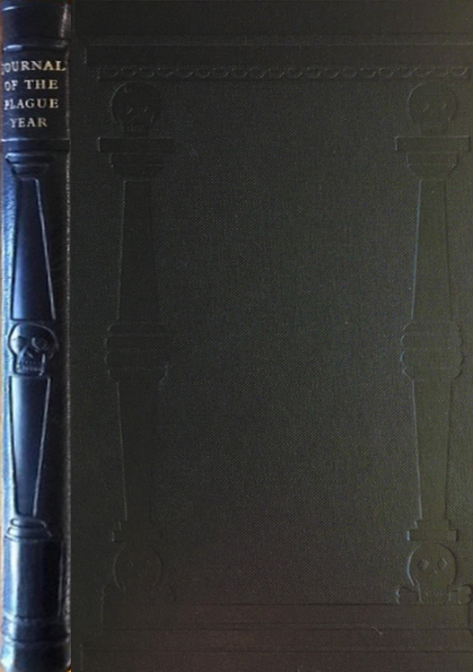 FS leatherbound Dafoe Journal of the Plague Year