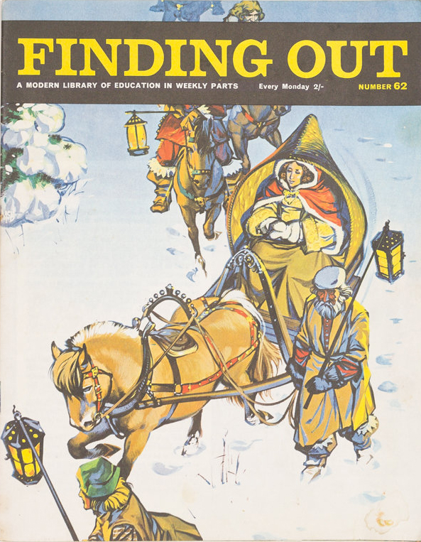 Finding Out 62 cover