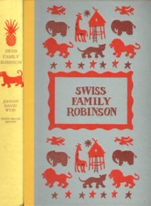 JDE Swiss Family Robinson FULL yellow red cover