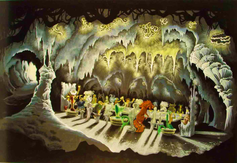 The Elf King's Banquet painting by Janet & Anne Grahame Johnstone