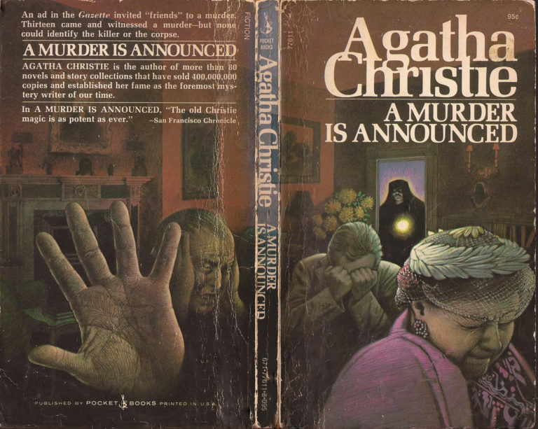 Agatha Christie Tom Adams A Murder is Announced Pocket Books