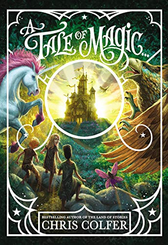 Chris Colfer Land of Stories A Tale of Magic cover
