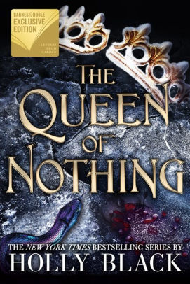 Holly Black Queen of Nothing BN cover