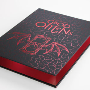 Occult Edition Good Omens page edges