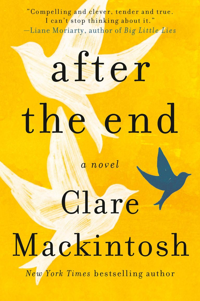 clare mackintosh after the end US cover