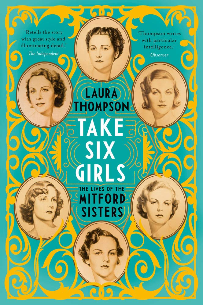 laura thompson take six girls illustrated mitford cover