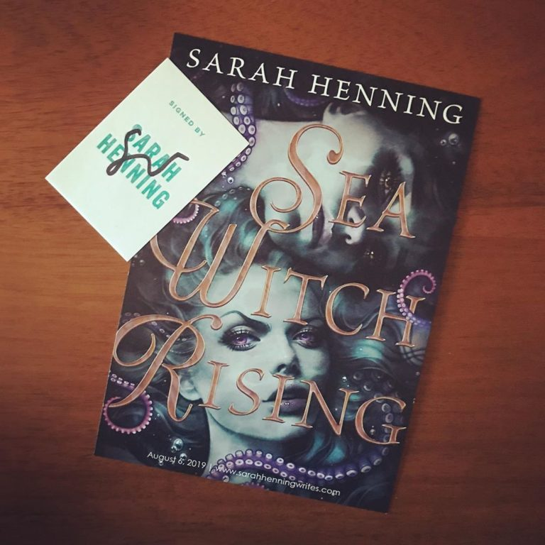 sarah henning sea witch rising preorder swag 1