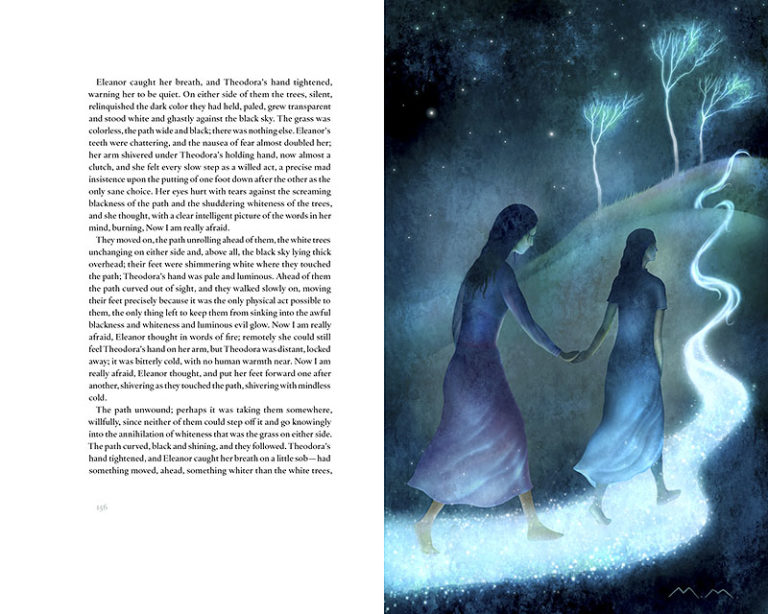 shirley jackson haunting of hill house spread3