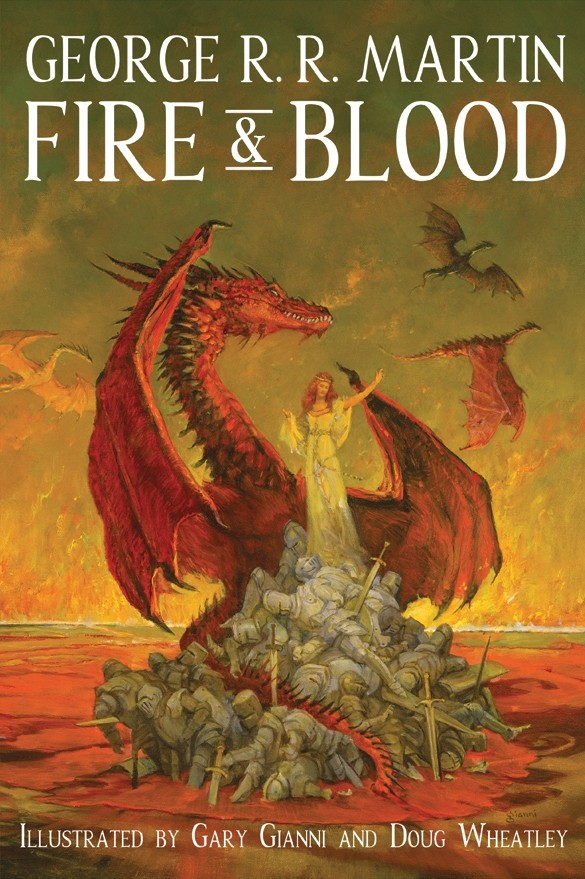 sub press fire blood george martin cover