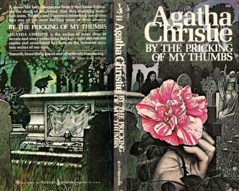 Agatha Christie Tom Adams BY the pricking of my thumbs 2 Pocket Books sm