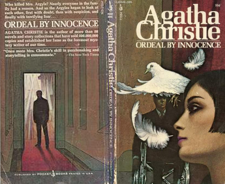 Agatha Christie Tom Adams Ordeal by Innocence Pocket full