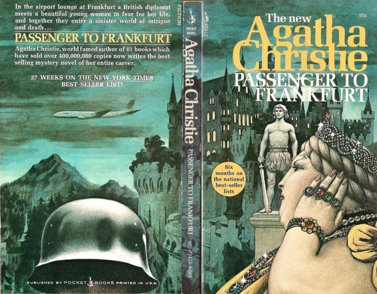 Agatha Christie Tom Adams Passenger to Frankfurt Pocket sm