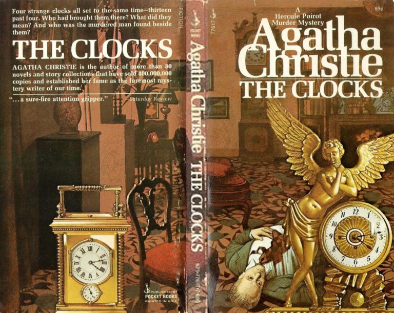 Agatha Christie Tom Adams The Clocks Pocket sm