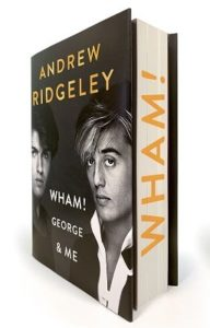 Andrew Ridgeley Wham sprayed edges