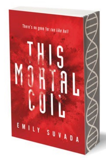Emily Suvada This Mortal Coil Sprayed Page Edges