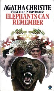 Agatha Christie Tom Adams Elephants Can Remember Fontana 1975