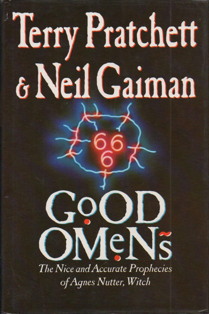 good omens 1st ed cover 2