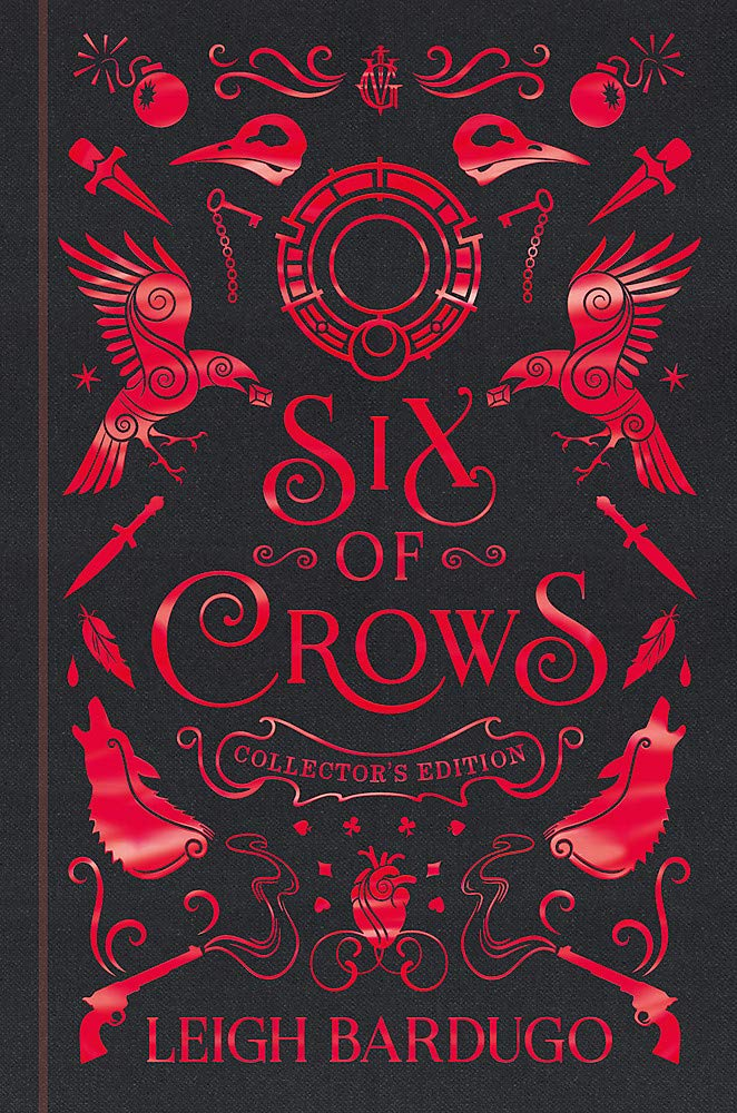leigh bardugo six of crows collectors ed front