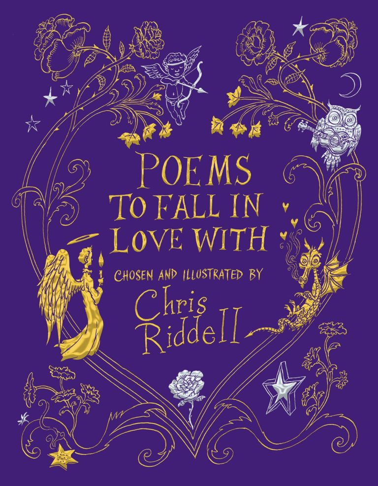 Poems to fall in love with chris riddell cover