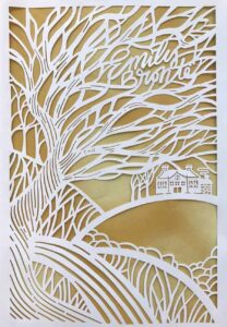 seasons edition emily bronte wuthering heights cut paper sm