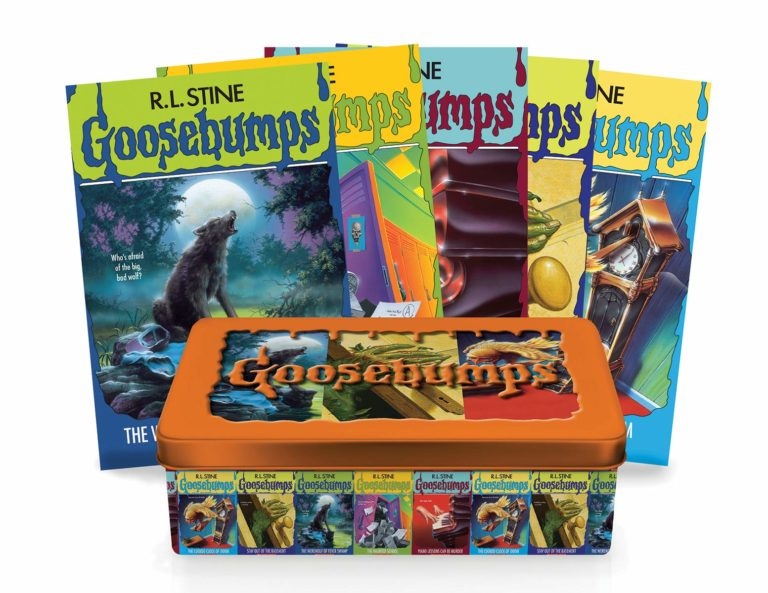 goosebumps fear tin