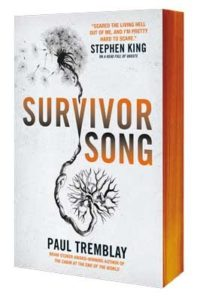 paul tremblay survivor song sprayed edges