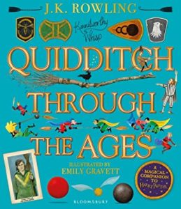 quidditch illustrated uk cover