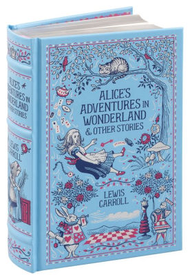 bn blue leatherbound alice cover