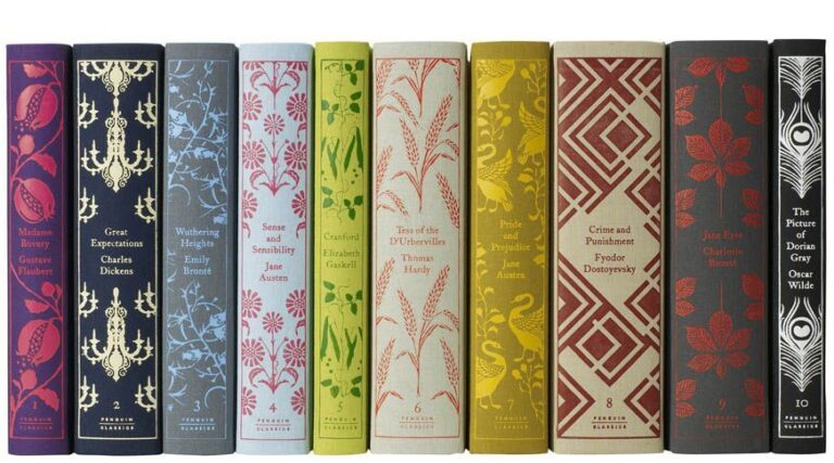 penguin clothbound early numbered set