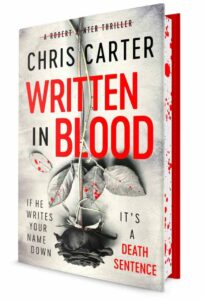 Chris Carter Written In Blood Sprayed sm