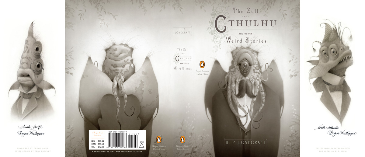 Lovecraft The Call of Cthulu Penguin Deluxe cover full