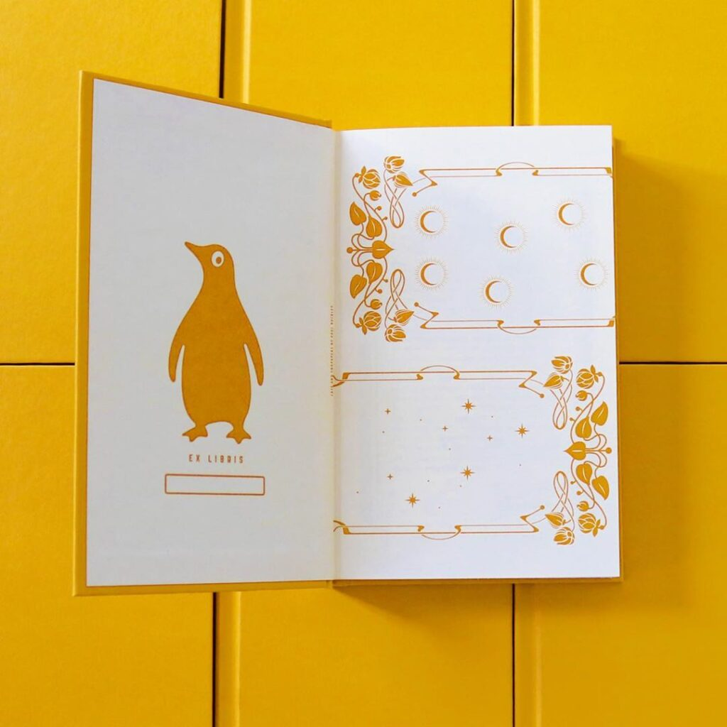 penguin vitae gilman yellow wall paper endpapers IG