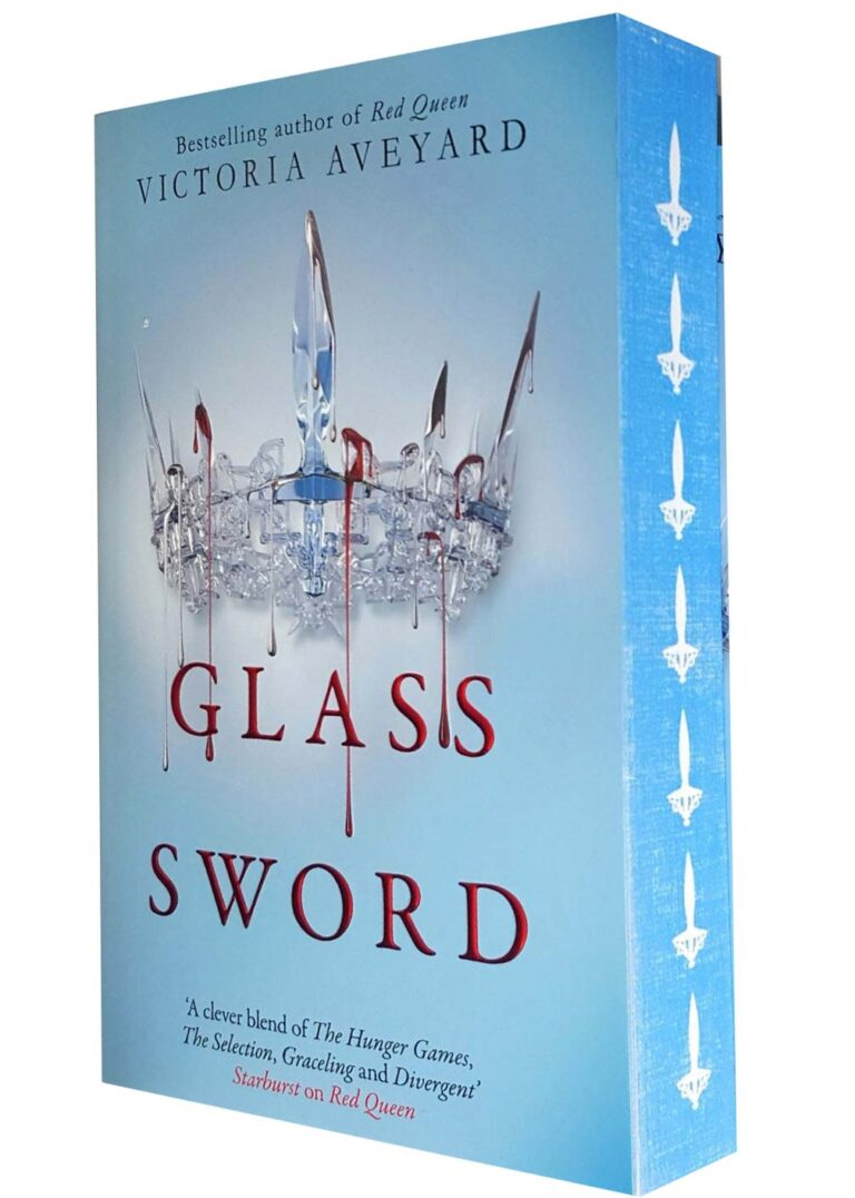 victoria aveyard glass sword sprayed edges sm