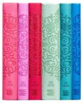 canterbury word cloud jane austen spines