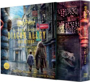 reinhart popup diagon alley slipcase