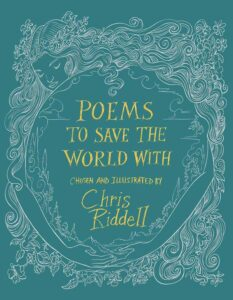 riddell poems to save the world