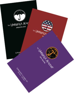 umbrella academy library set x3