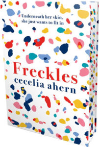 Ahearn Freckles sprayed page edges